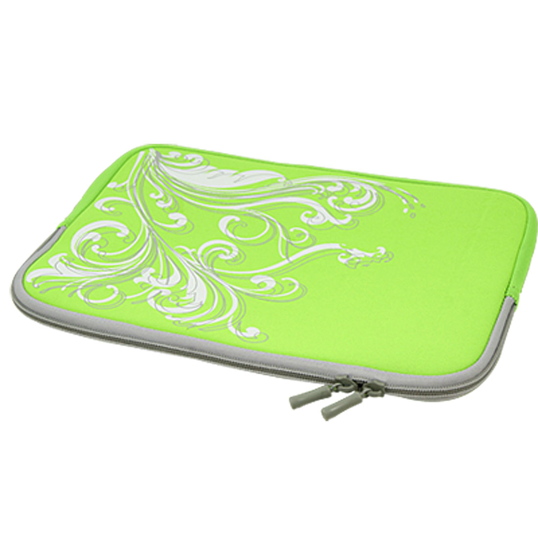 "10"" 10.1"" 10.2"" Green Swirl Neoprene Laptop Sleeve Bag Case"