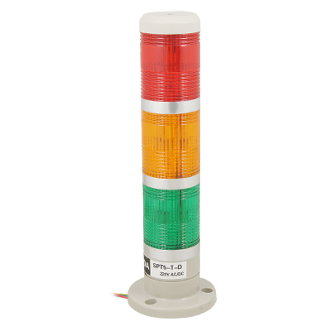 AC 220V Red Yellow Green LED Multi Level Industrial Sighal Tower Indicator Light