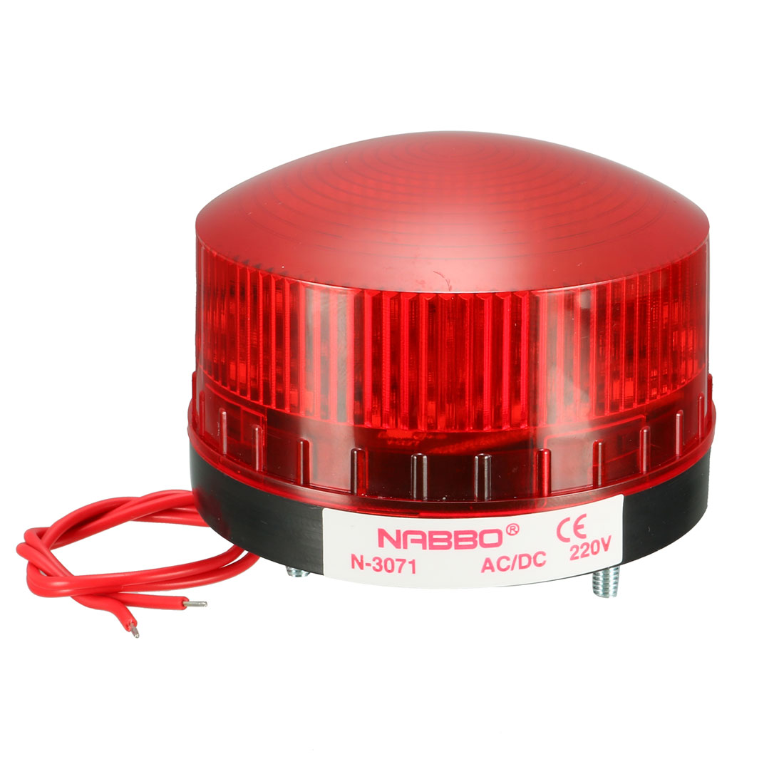 Red LED Strobe Industrial Signal Tower Stack Warning Light AC 220V