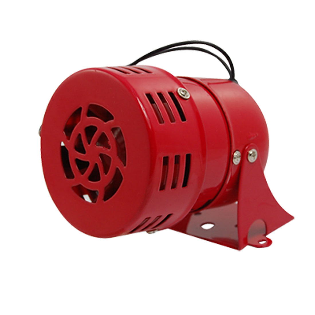 MS-190 AC 220V 0.43A Red Metal Sheel 114dB Mini Motor Siren Horn