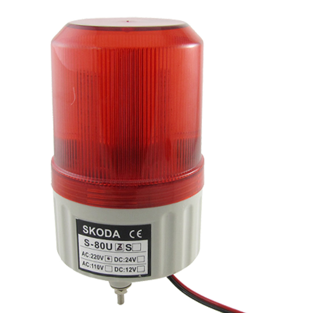 AC 220V Red LED Flash Multi Level Industrial Signal Tower Light