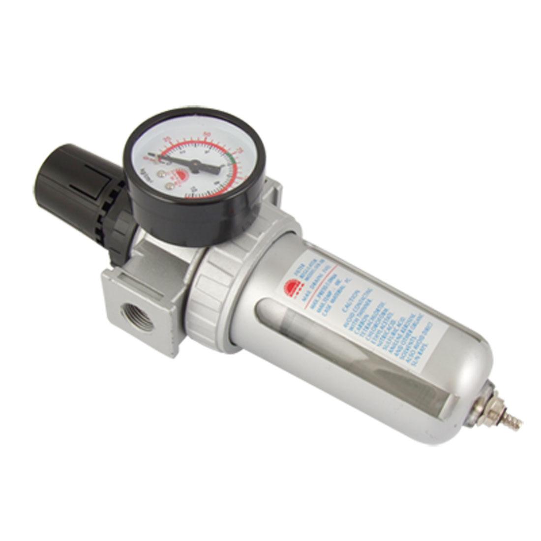 SFR300 Pneumatic Air Filter Gas Source Treatment w Pressure Gauge
