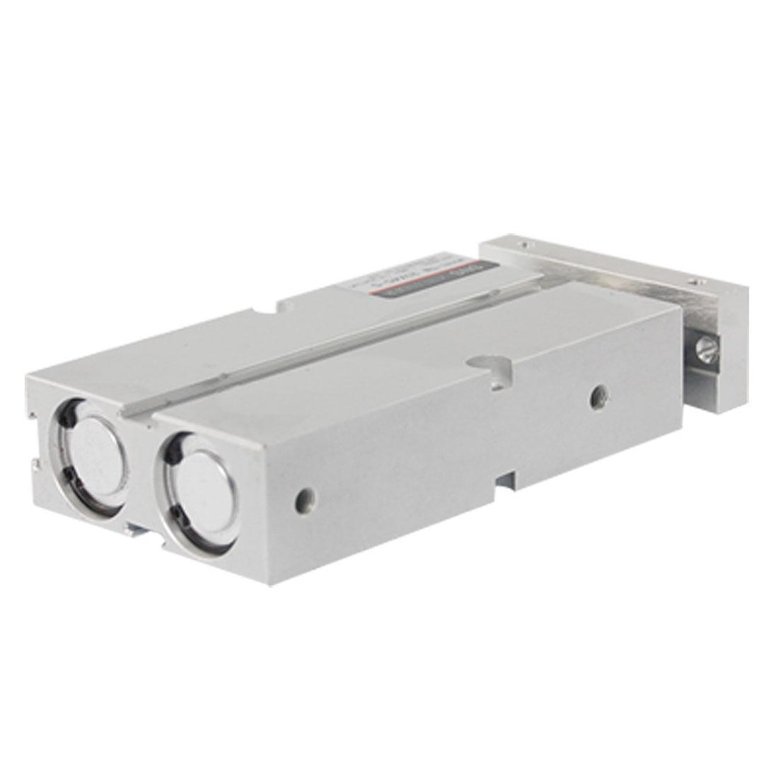 Dual Shaft 20 x 45 Magnet Attach Air Pneumatic Cylinder