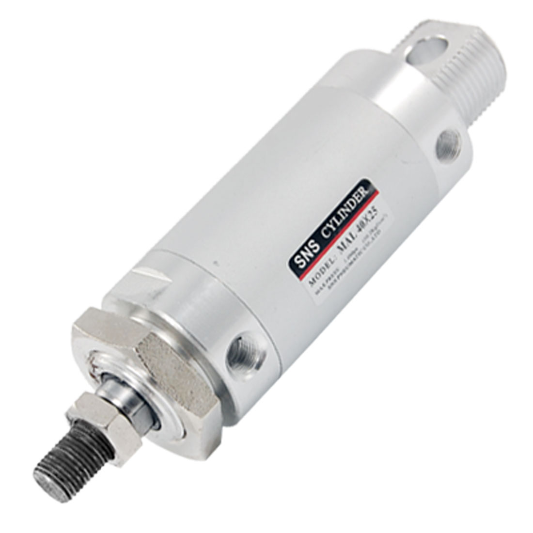 Dual Action 1.0Mpa MAL 40 x 25 Mini Pnaumatic Air Cylinder