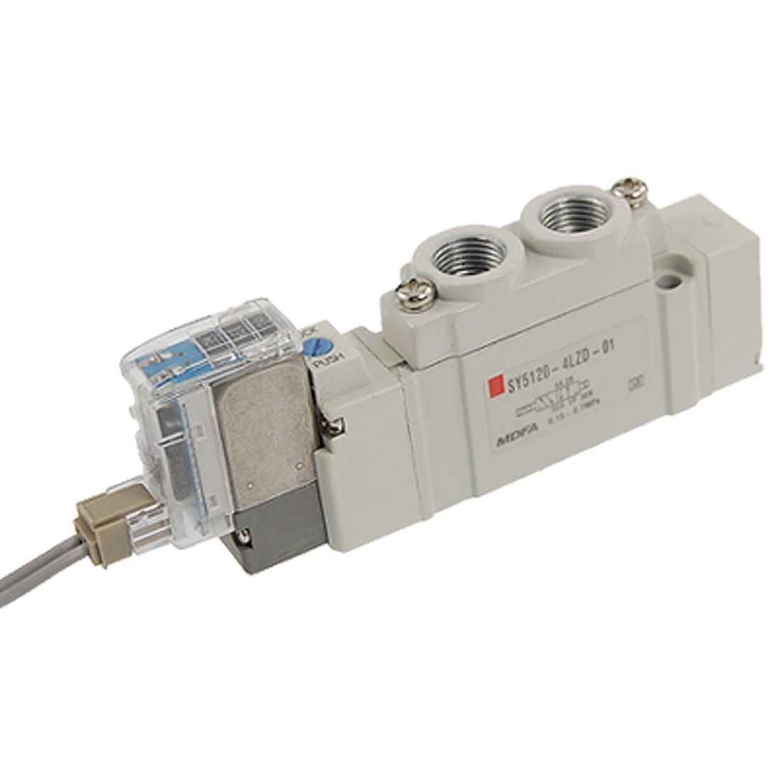 SY5120-4LZD-01 AC 220V 2 Position Single Action 5 Port Solenoid Valve