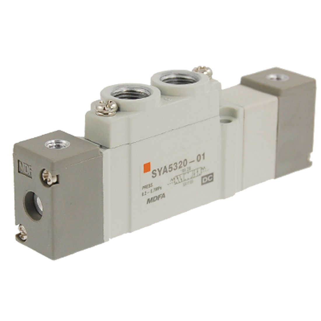 SYA Series 3 Position Closed Center 5 Ports Air Operated Valve