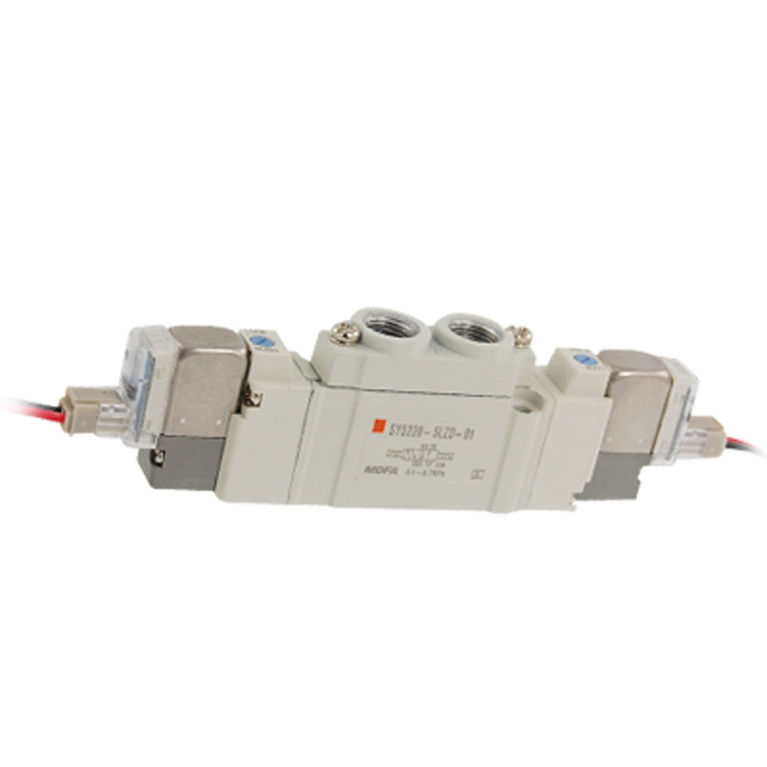 SY5220-5LZD-01 DC 24V 2 Position Double Action 5 Ports Solenoid Valve