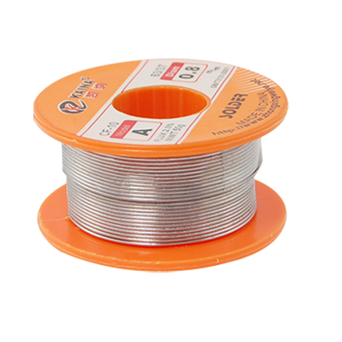 0.8mm 63/37 Tin Lead Roll Rosin Core Solder 2% Flux Soldering Wire Spool