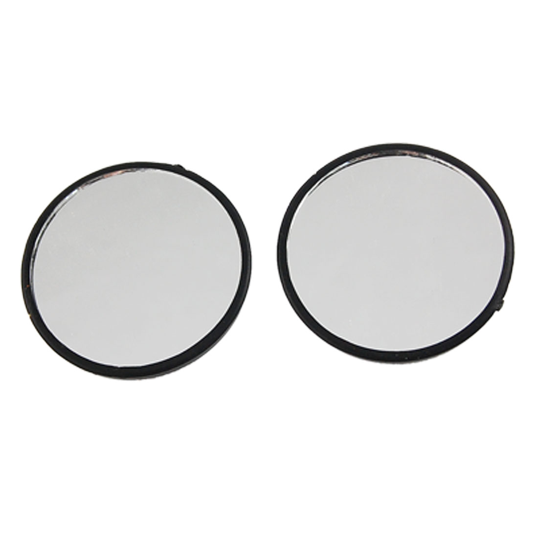 "2 Pcs 2"" Round Stick-on Rear View Blind Spot Mirror for Auto Car"