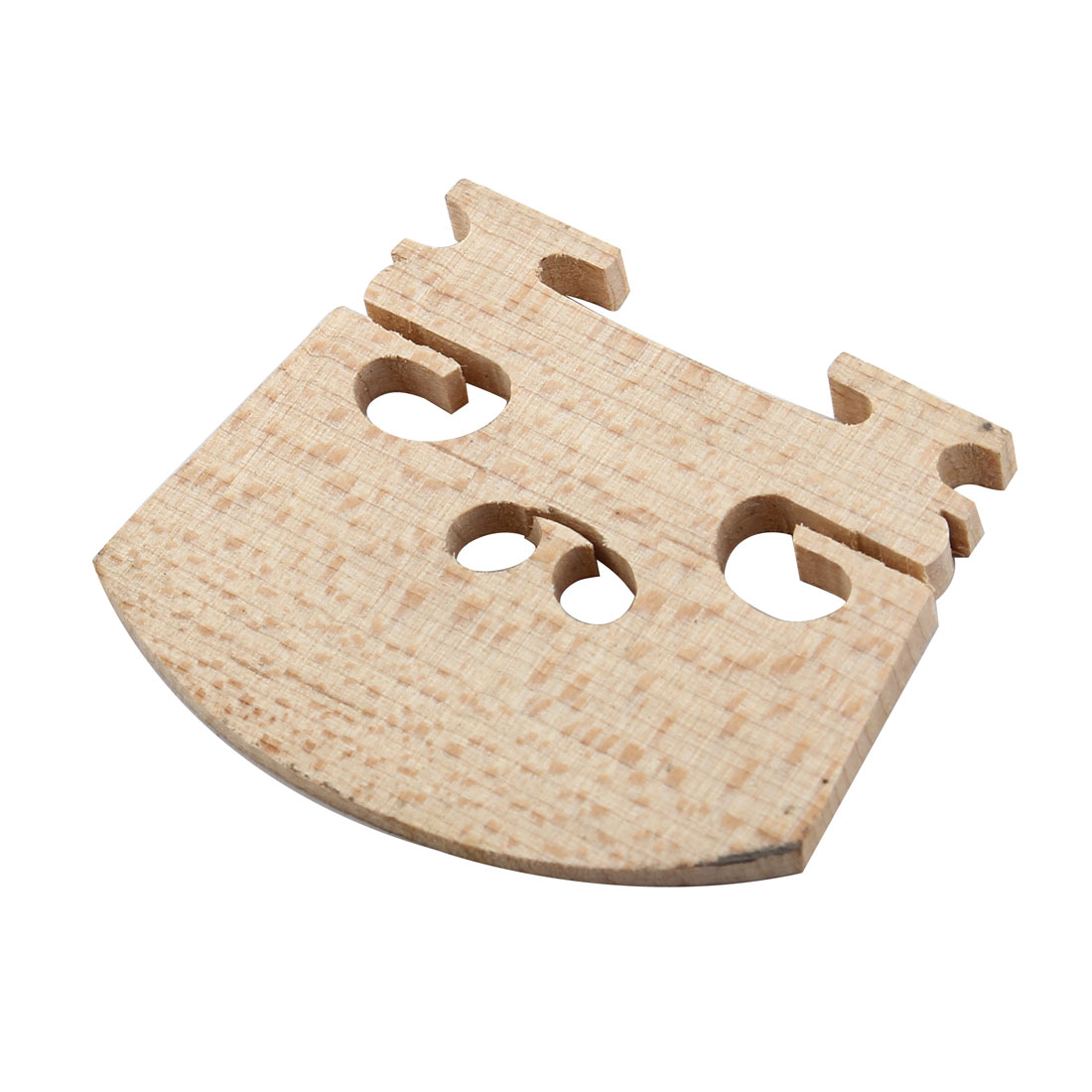 1/4 4/4 Size Violin Parts Fitting String Centre Wooden Bridge