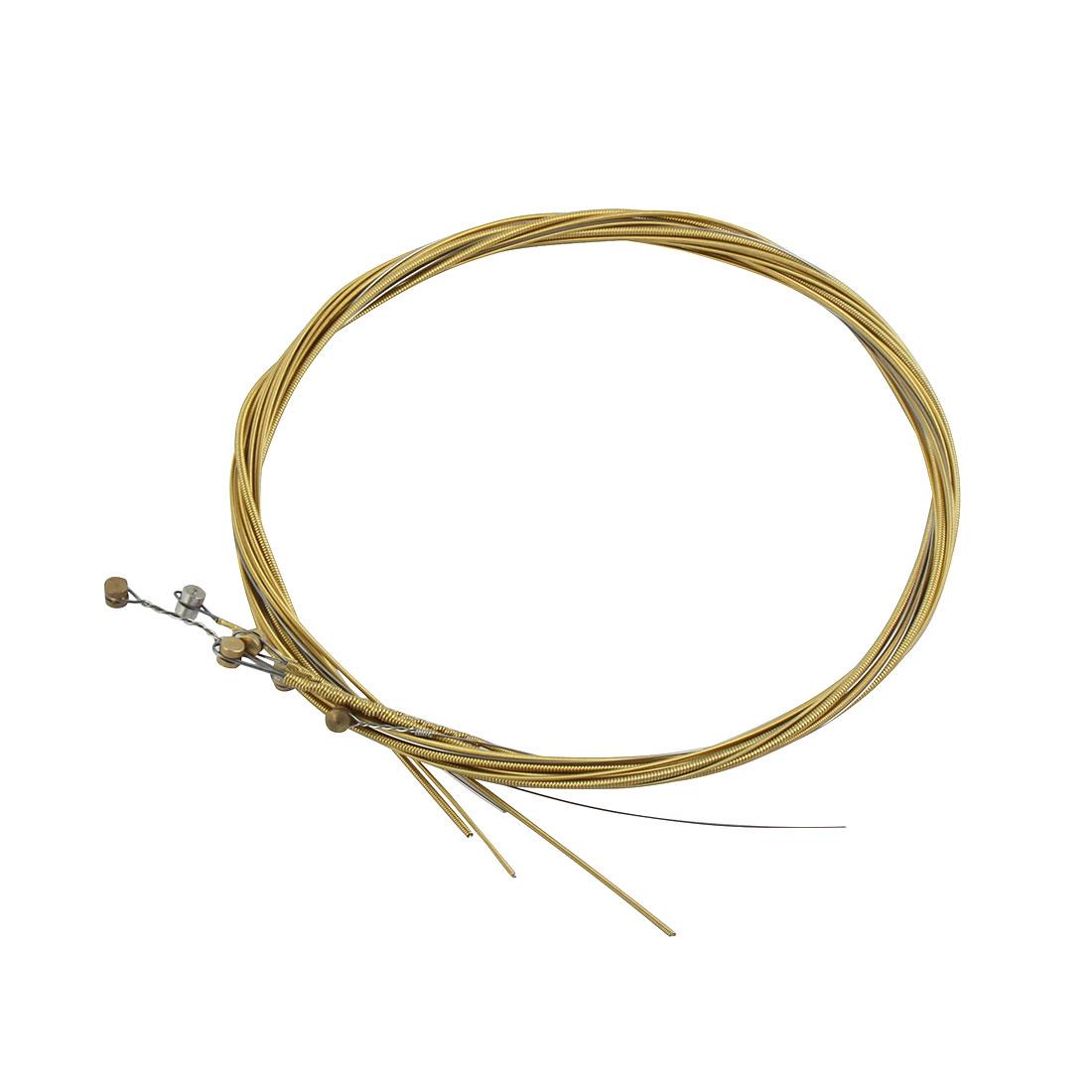Extra Light Steel Strings 6 Pcs for Folk Acoustic Guitar