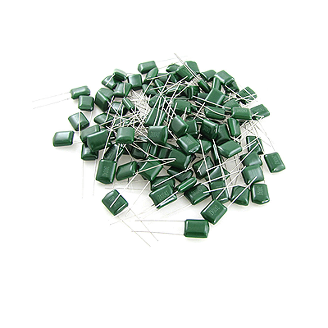 DC 100V 0.1uF Mylar Polyester Film Capacitor(Bag of 100)