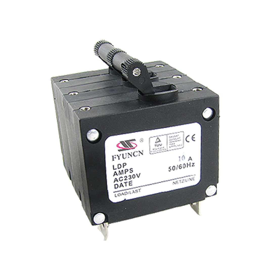 10A Rated Current AC230V 3P MCB Miniature Circuit Breaker