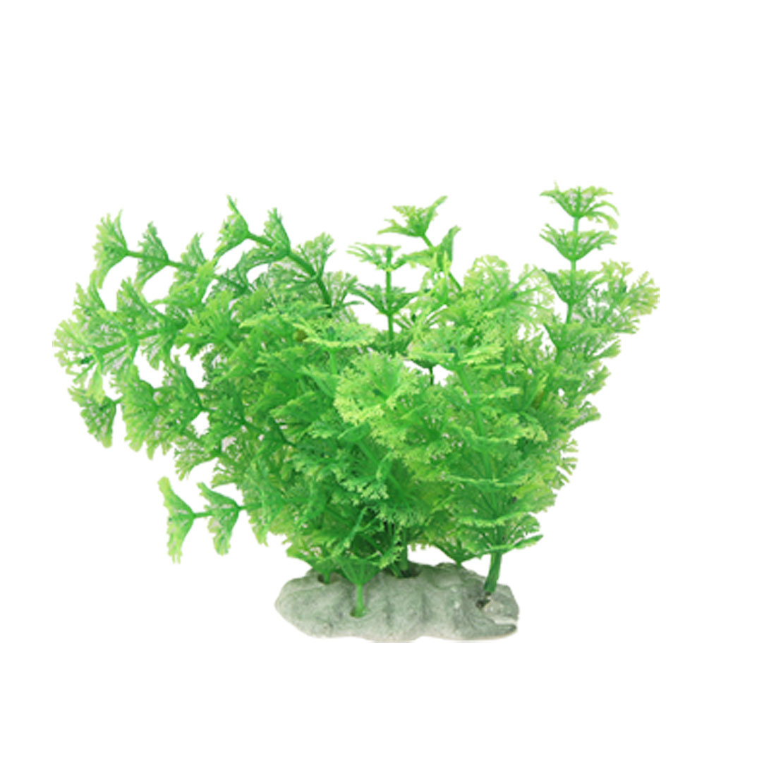 Fish Tank Green Emulational Plastic Ornament Water Grass