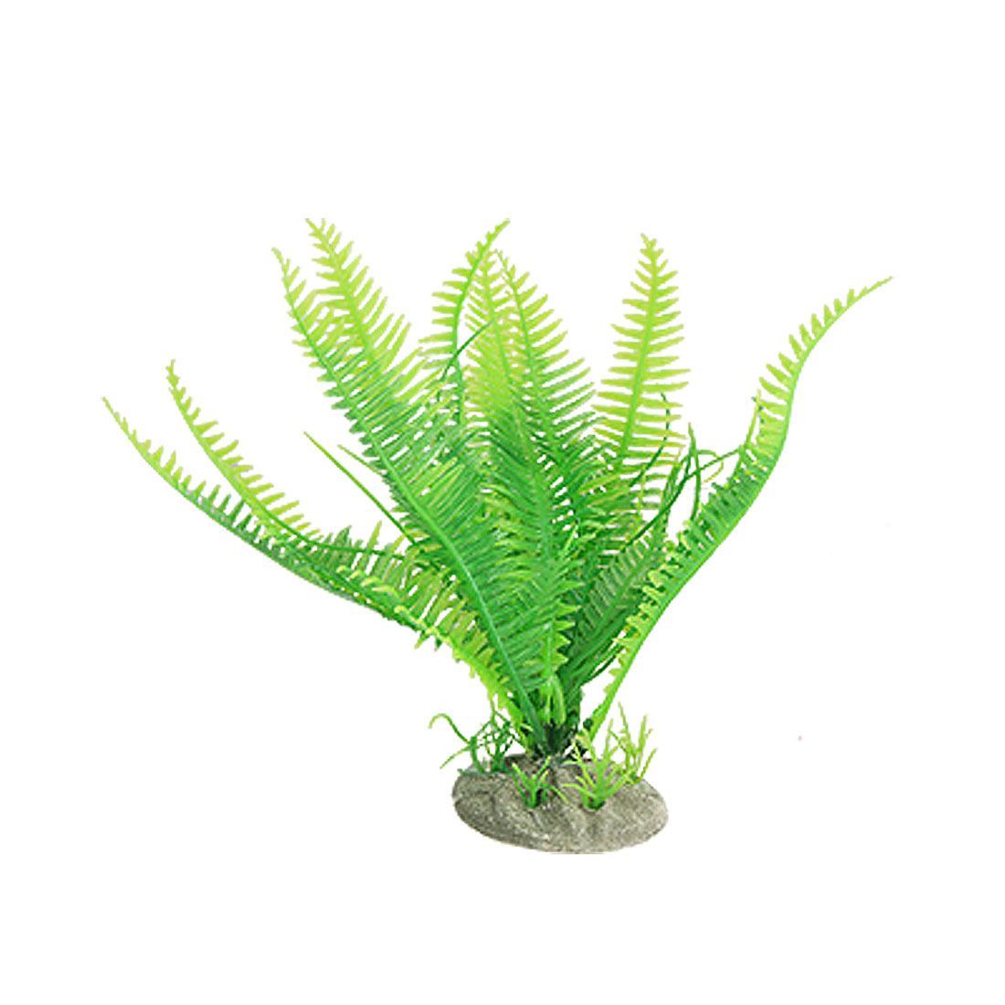 Aquarium Green Emulational Plastic Ornament Water Plant