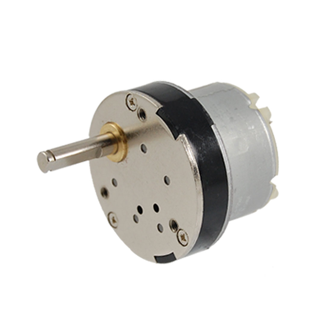 40mm Diameter Gear Box 50RPM DC 12V 0.15A Speed Reduce Motor