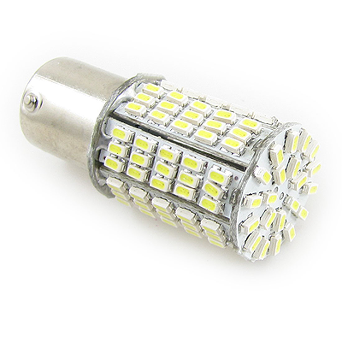 Auto Car BA15S 1156 White 125 SMD LED Turn Signal Light Bulb