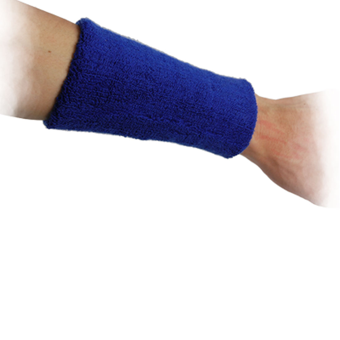 Blue Elastic Pullover Wrist Support Sports Protector
