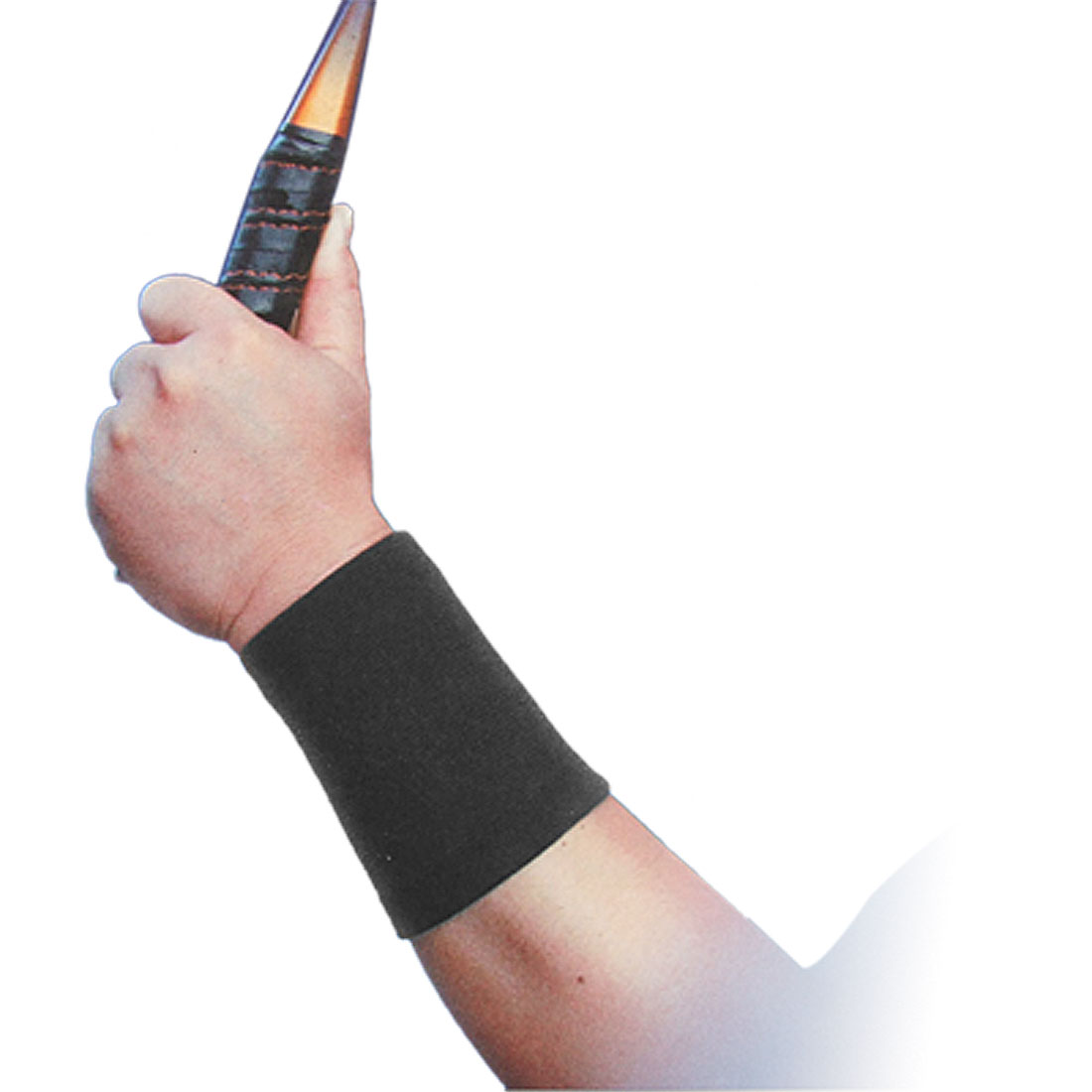 Badminton Sports Black Pair Wrist Support Protector