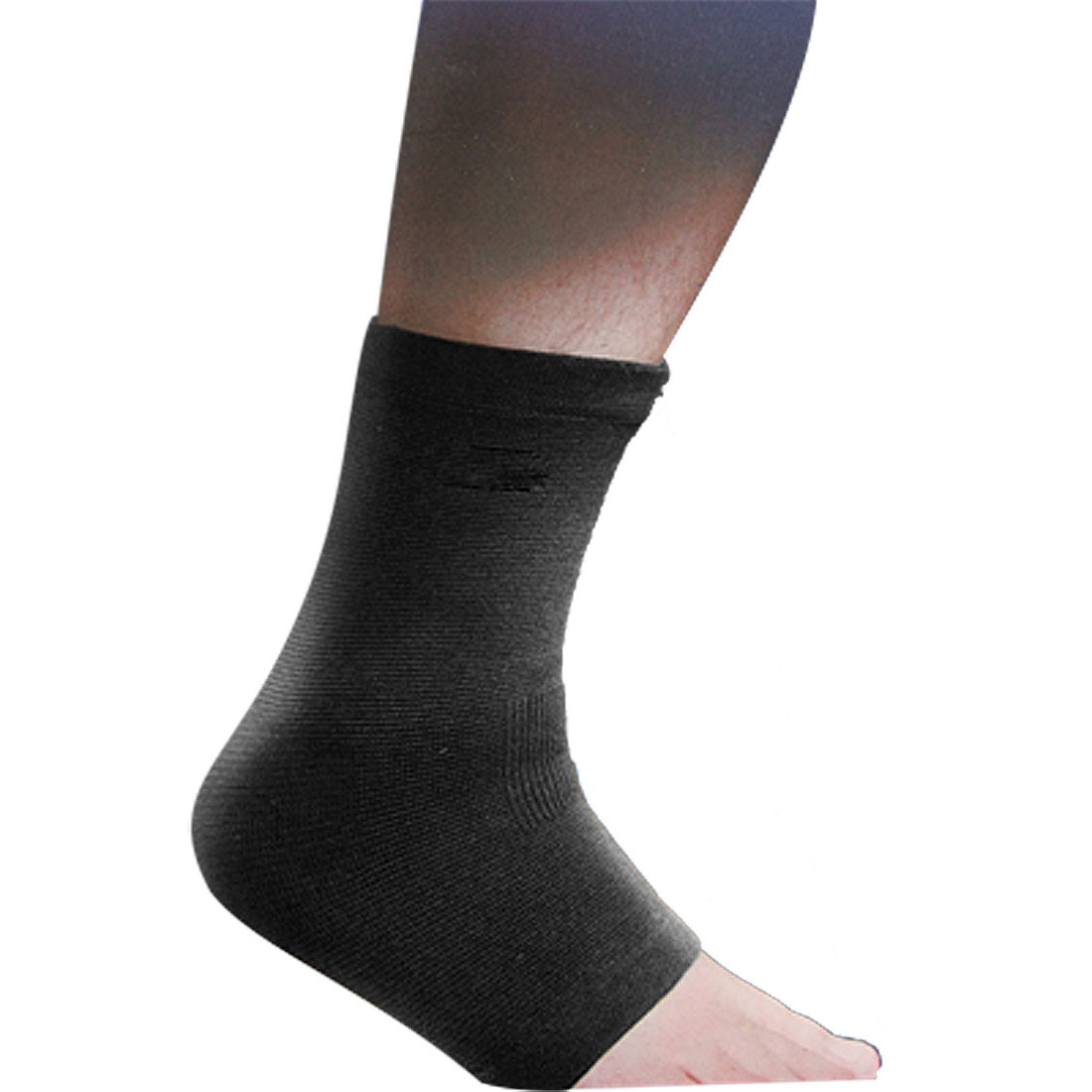 Sports Black Stretchy Ankle Support Brace Protector