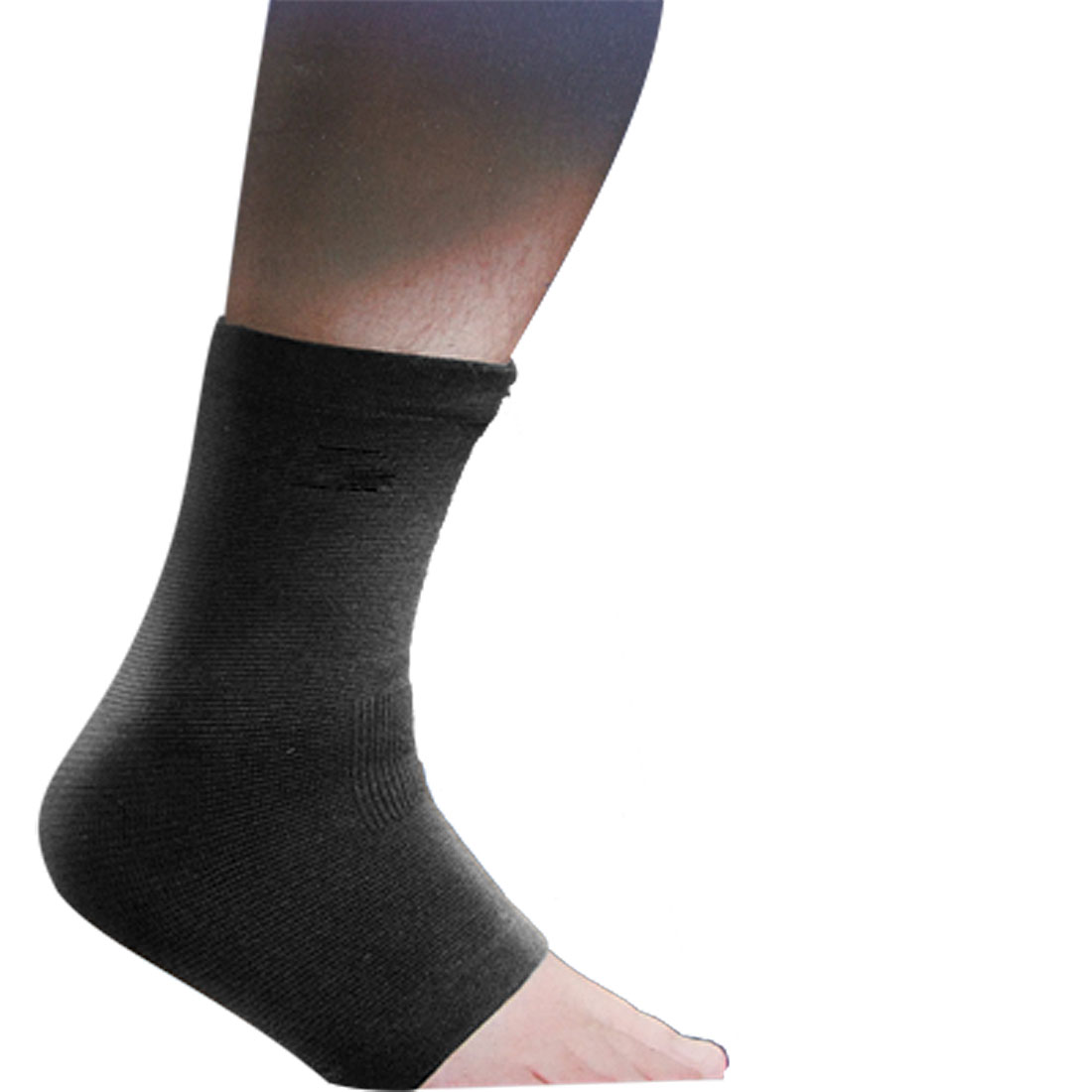 Exercise Training Ankle Support Brace Black Wrapper