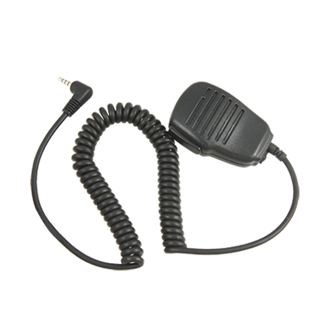 Black Coil Cord 3.5mm Connector Speaker Microphone for Yaesu VX351