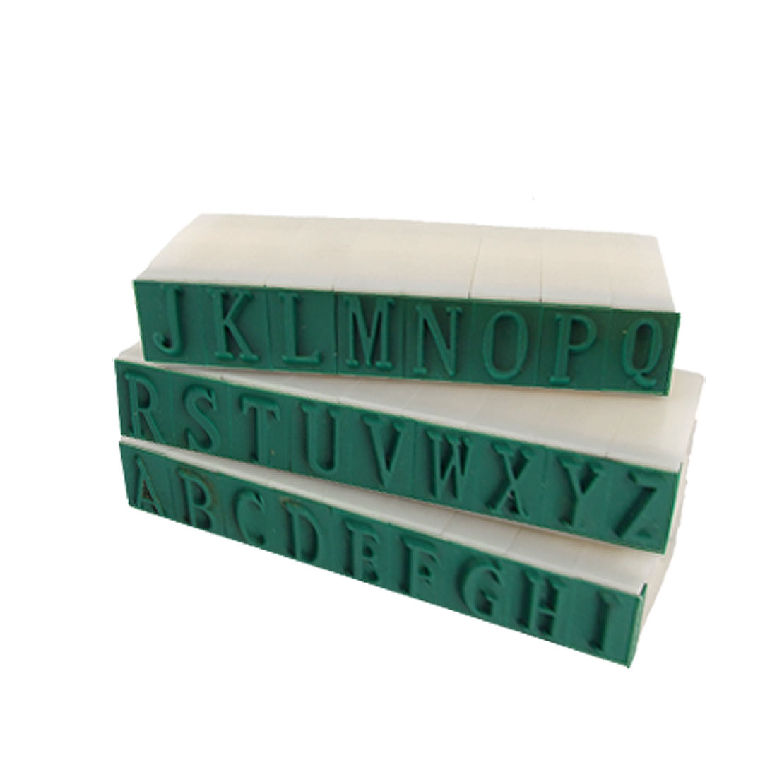 Child Learning Detachable Plastic English Alphabet Stamp