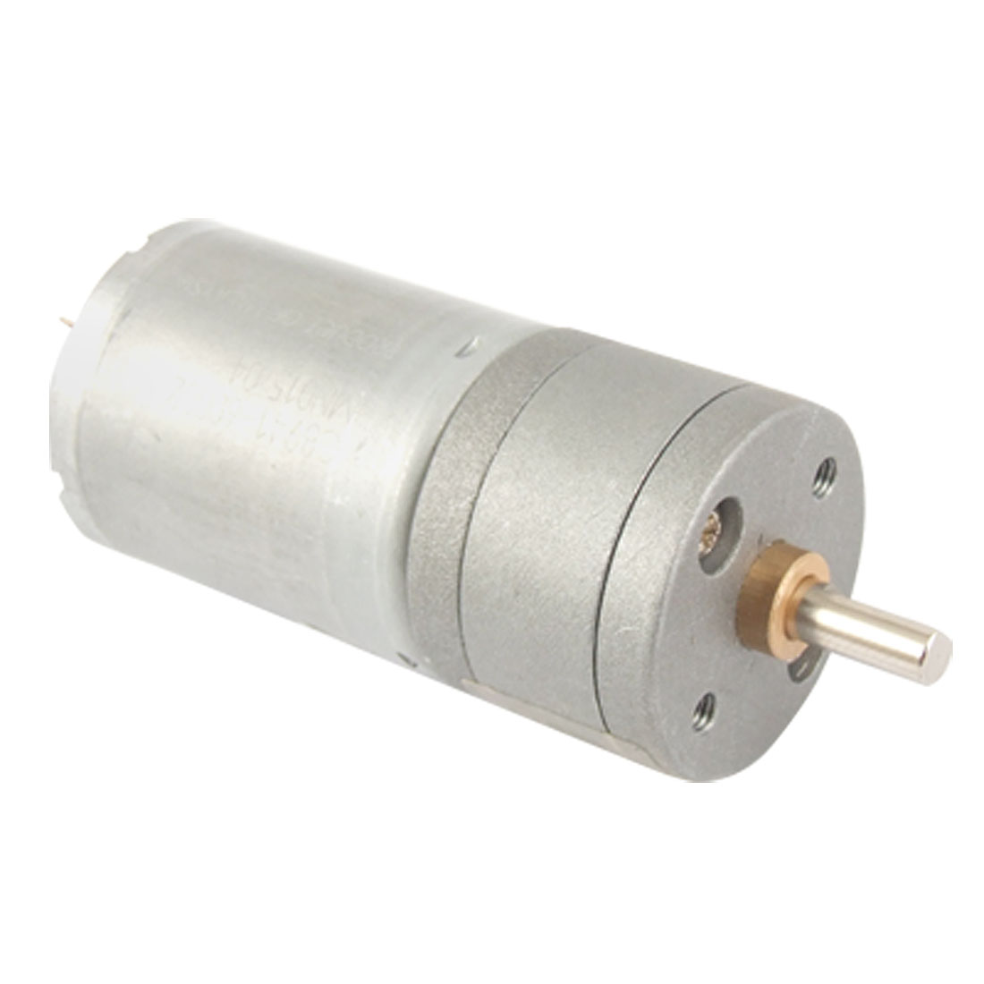 12V 40-50mA 400RPM 4mm Shaft 25mm Diameter DC Geared Motor w Gearbox