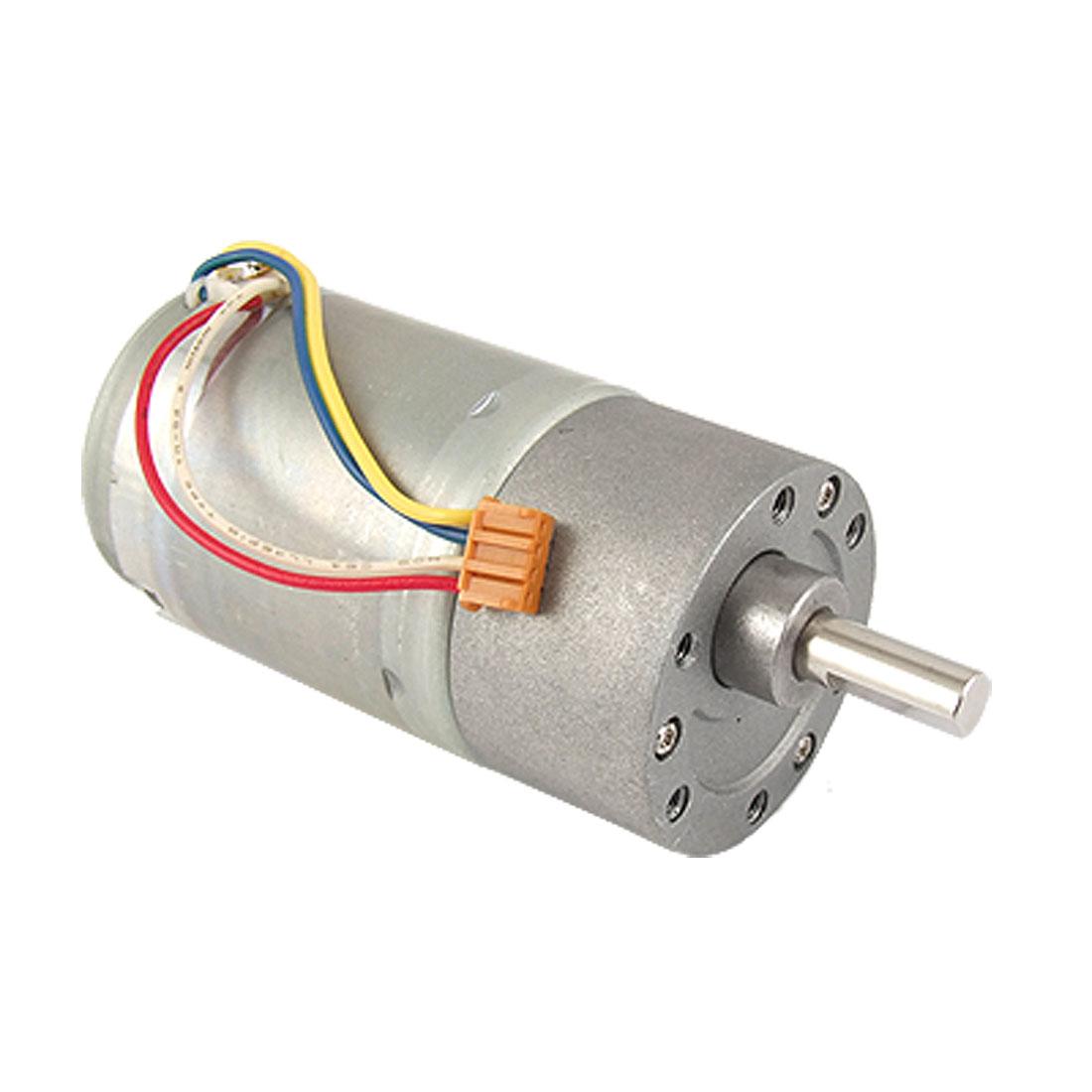 DC12V 0.33A 100RPM 37mm Diameter Electric DC Geared Motor