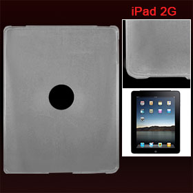 Clear Soft Plastic Protective Back Case for Apple iPad 1G
