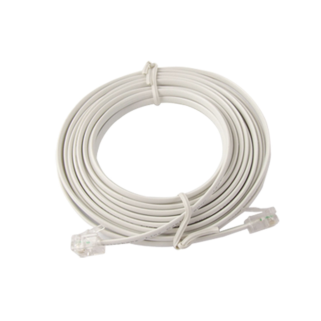 RJ11 Male to Male Connector 5m Telephone Extention Cable Line
