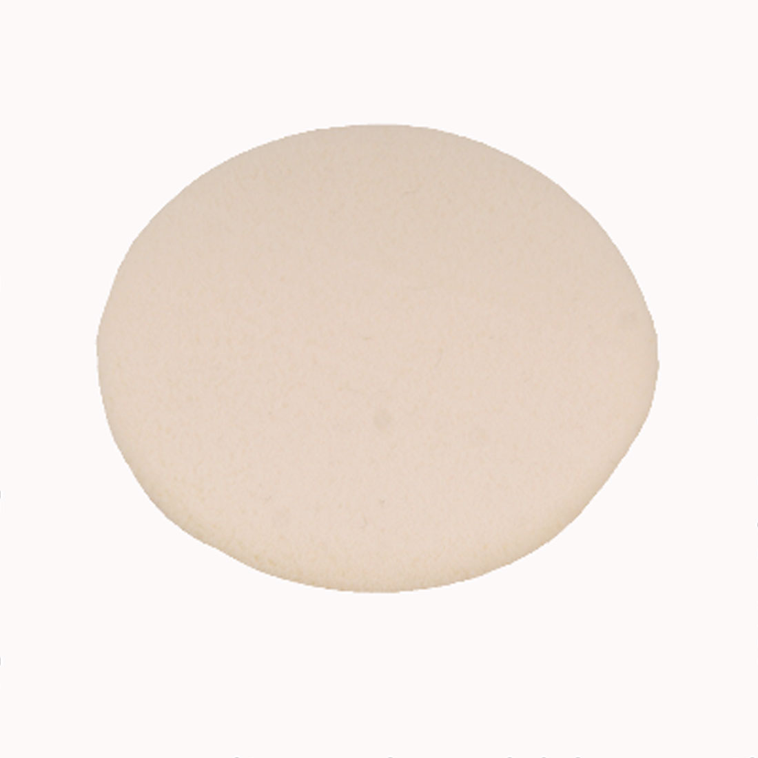 2 Pcs Facial Face Round Flesh Color Sponge Cosmetic Powder Puff