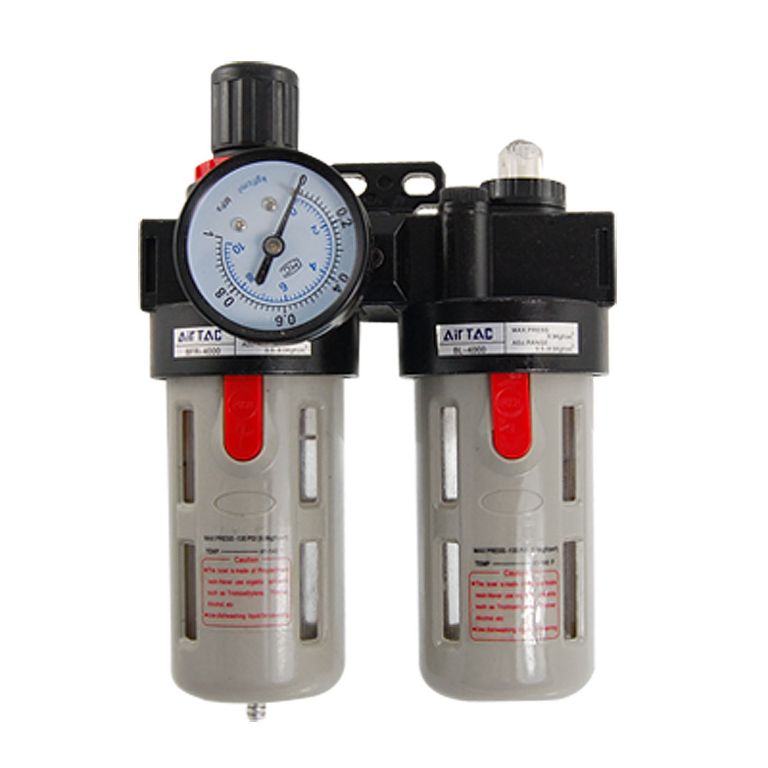 Air Source Treatment Lubricator Filter Regulator Combination BFC-3000