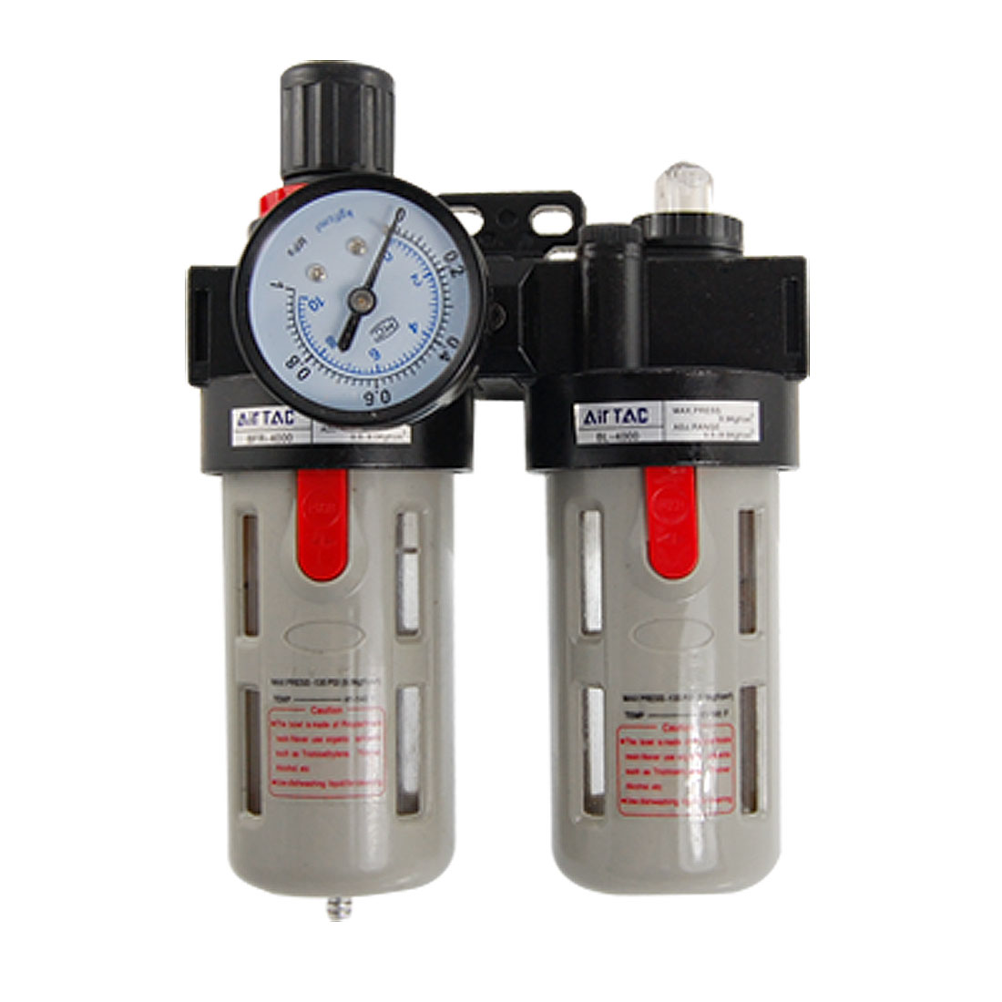 BFC-2000 Air Source Treatment Filter Regulator Lubricator Combination