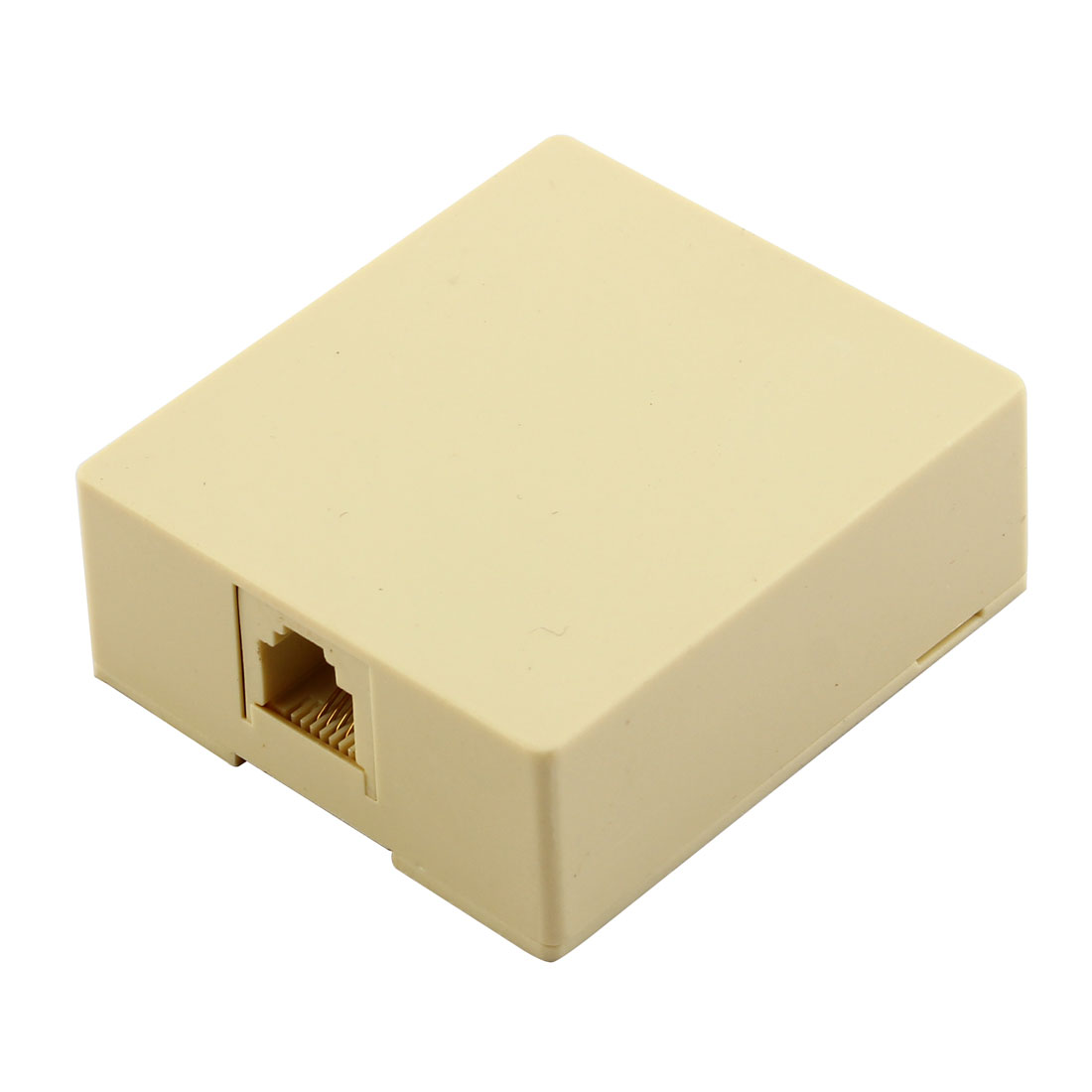 4 Pin RJ11 Socket Surface Mount Telephone Cable Jack Box