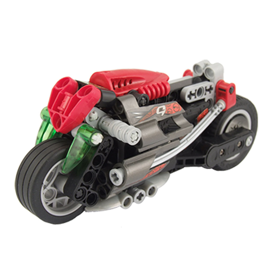 Child Intellect Training DIY Motorcycle Black Red
