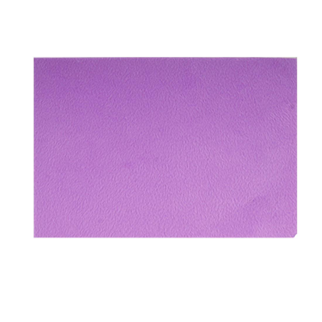 Stationery Pencil Box Solid Gum Ornament Purple Plush Fabric Sticker