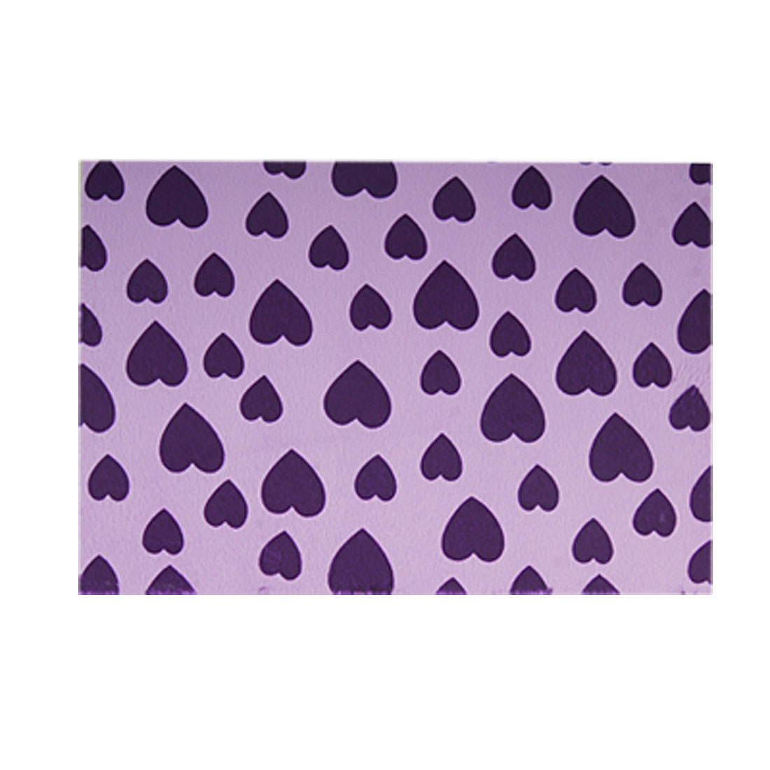 Purple Heart Pattern Cell Phone Camera Lavender Plush Fabric Sticker