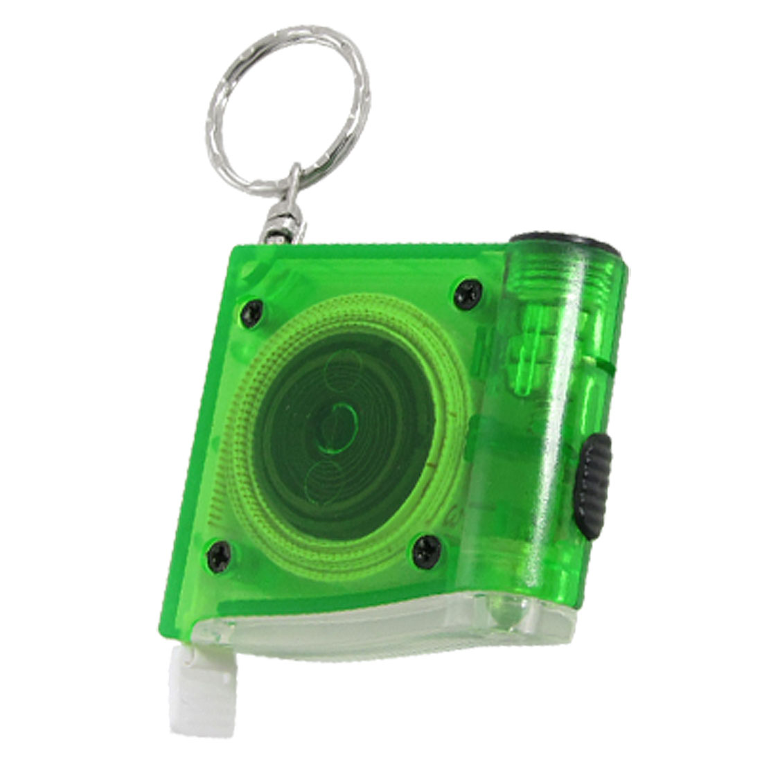 1M Green Retractable Soft Measuring Tool LED Tape Measure