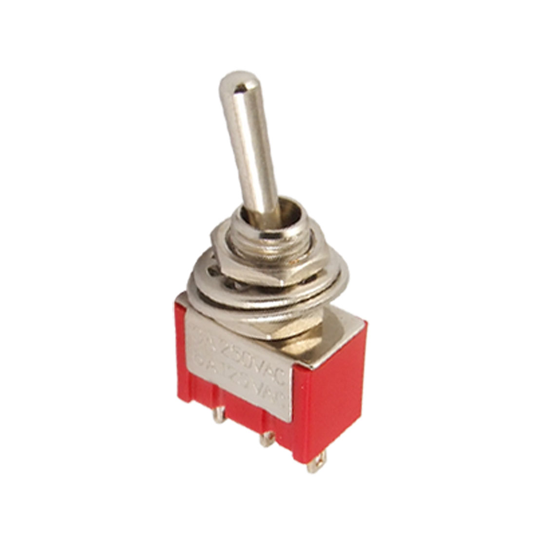 AC 250V/3A 125V/6A SPDT On/On 3 Prong Terminal Toggle Switch