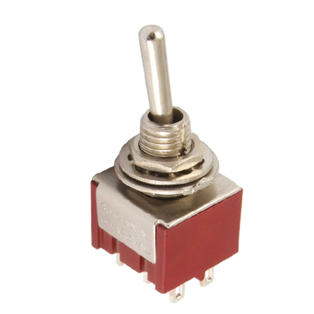 AC 250V/2A 120V/5A 2 Position Metal Handle On/On DPDT Mini Toggle Switch