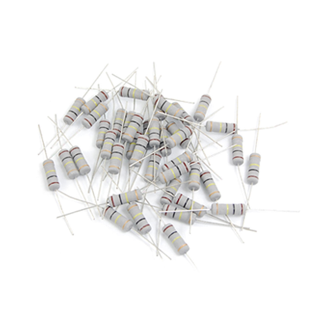 40 Pcs 2W Watt 100K Ohm 1% Axial Carbon Film Resistor