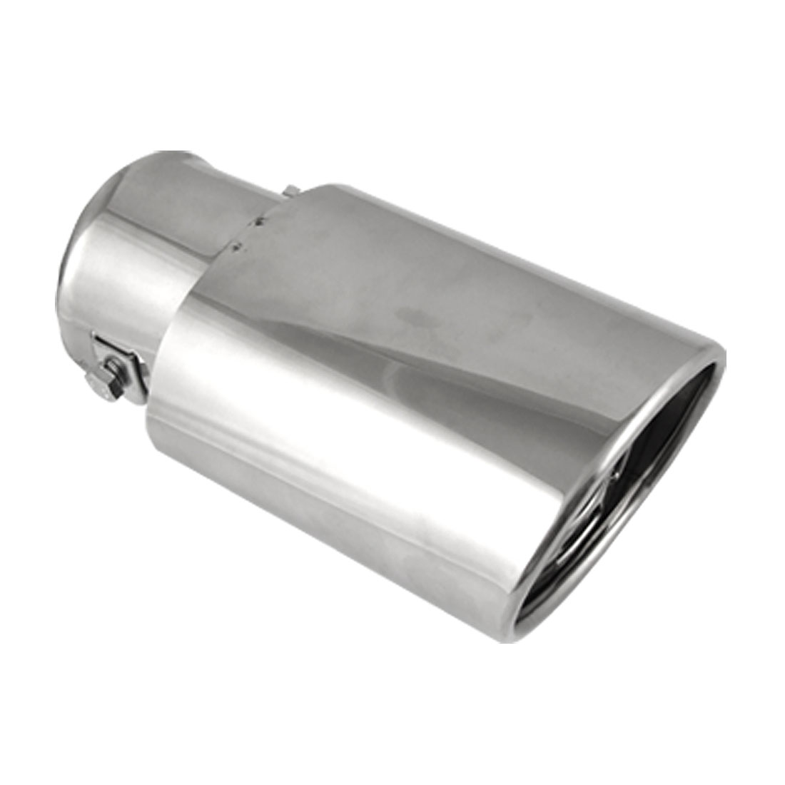 Car Auto Stainless Steel Oval Shape Exhaust Muffler Pipe