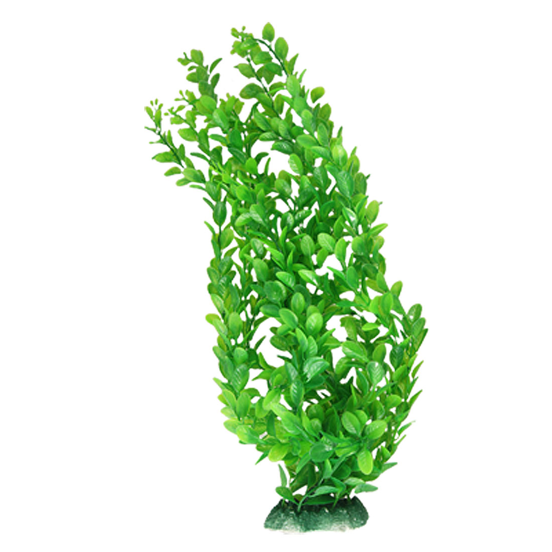 "Aquarium 15"" Height Green Aquascaping Plastic Ornament Plant"