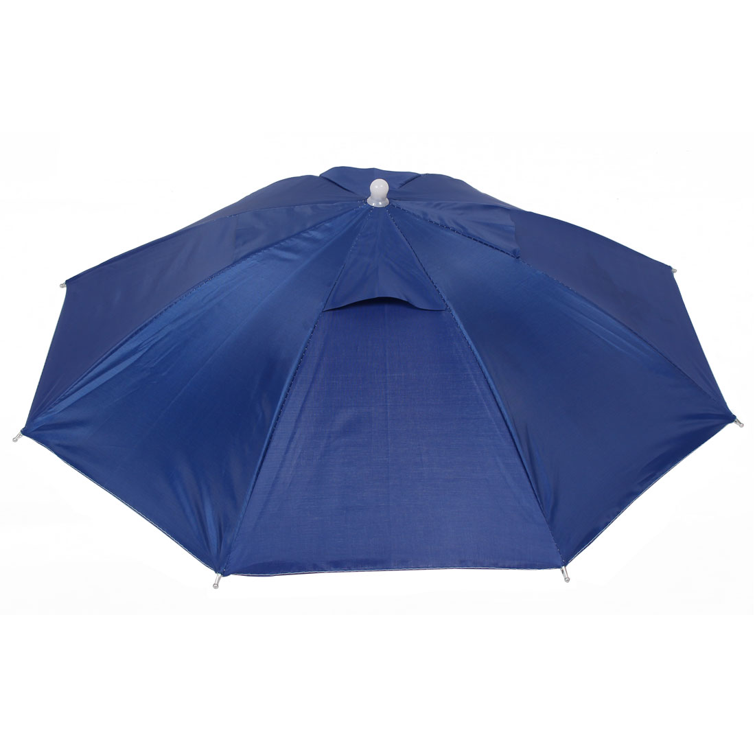 Outdoor Fishing Camping Royal Blue Umbrella Hat Headwear Cap