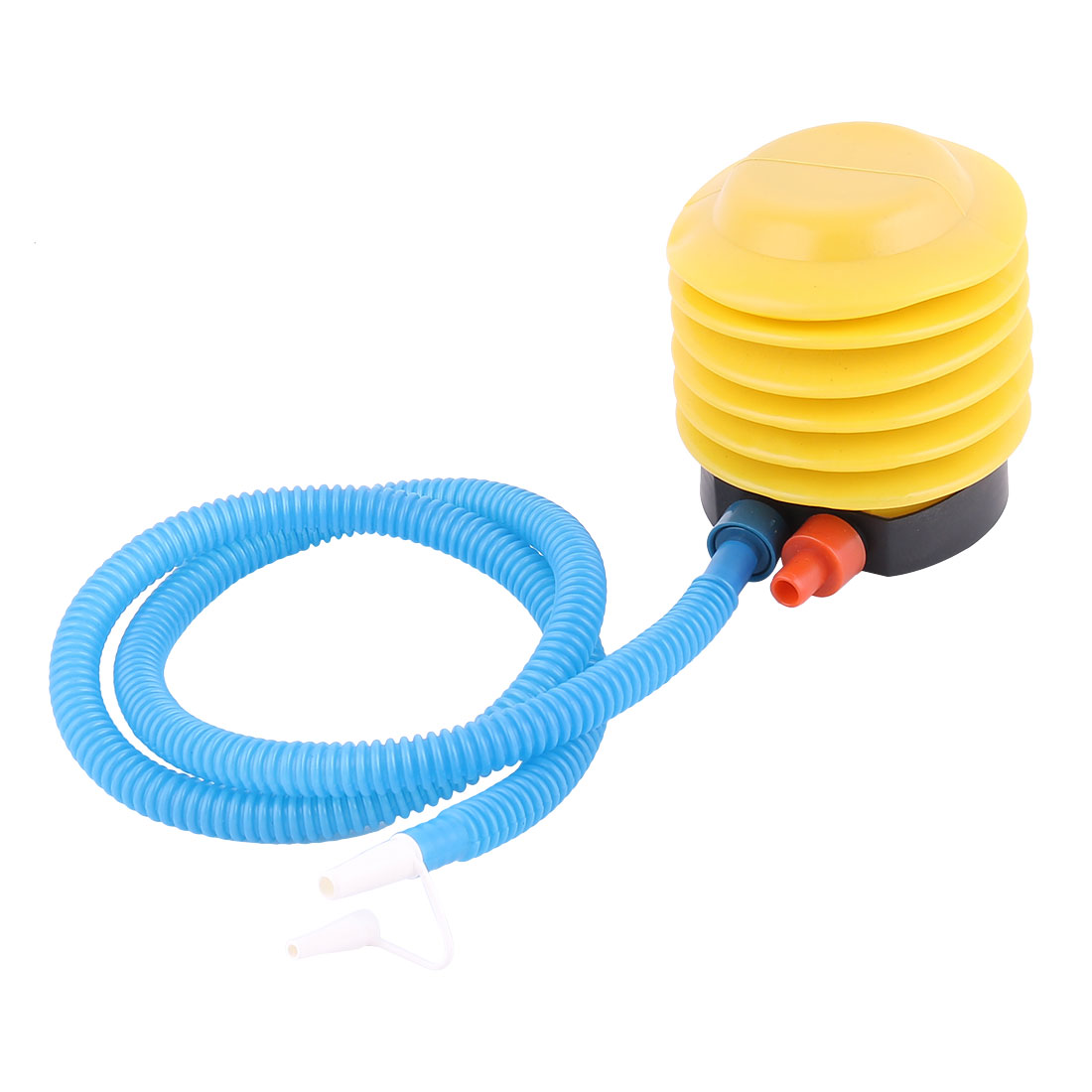 Balloon Air Toys Blue Yellow Hand Foot Plastic Pump