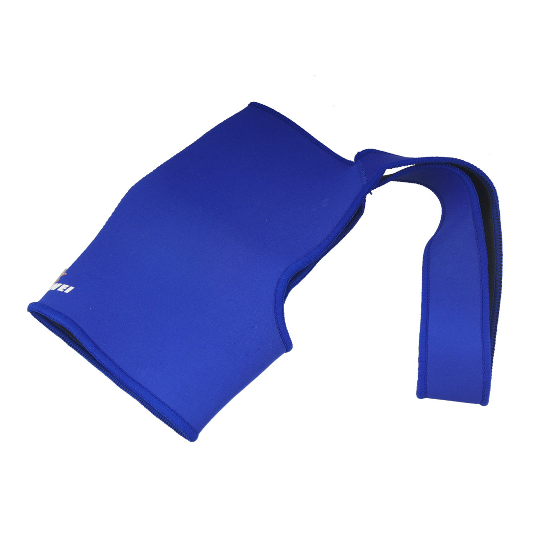 Blue Elasitc Neoprene Protective Single Shoulder Brace Support