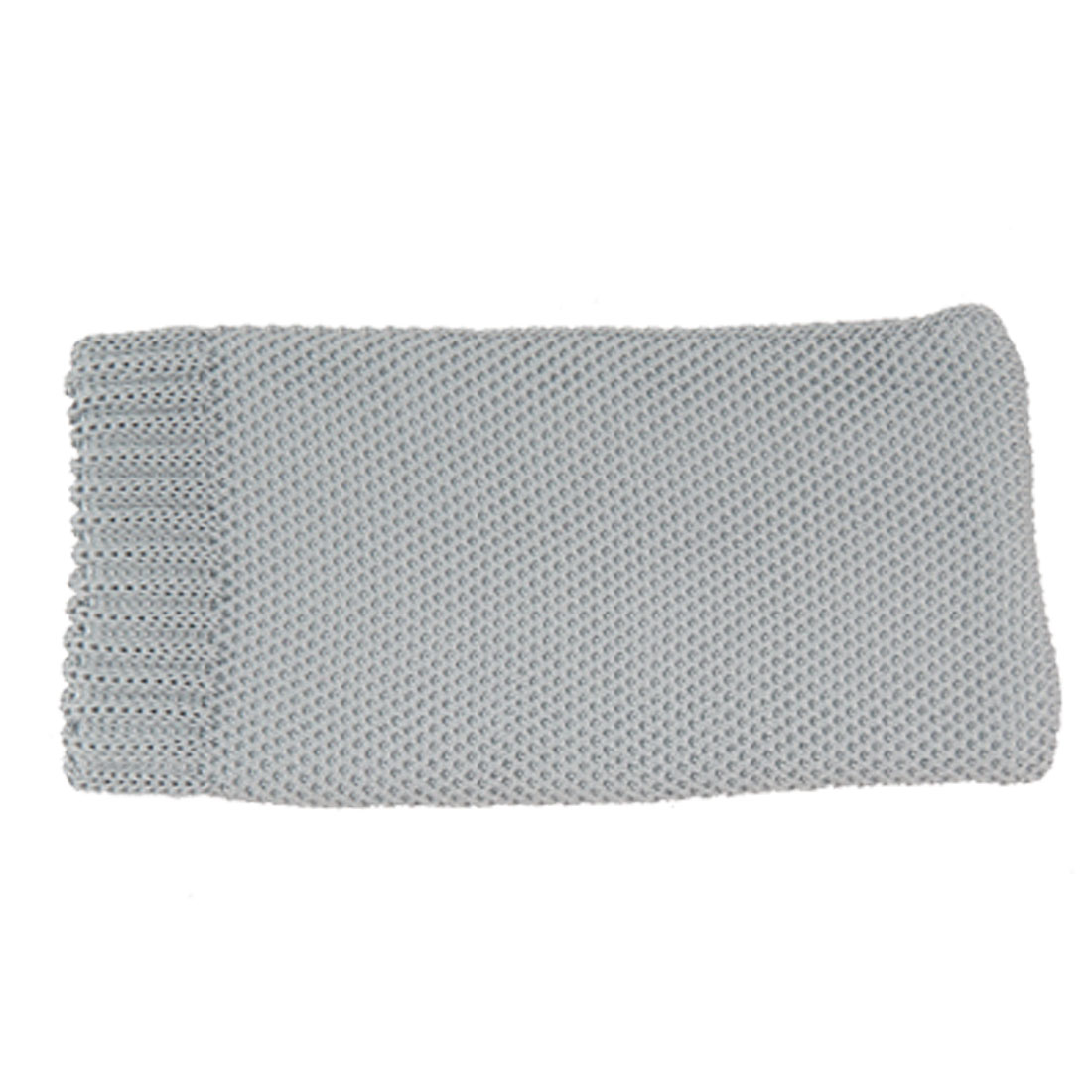 Mobile Phone Gray Knitted Elastic Pouch Bag Protector