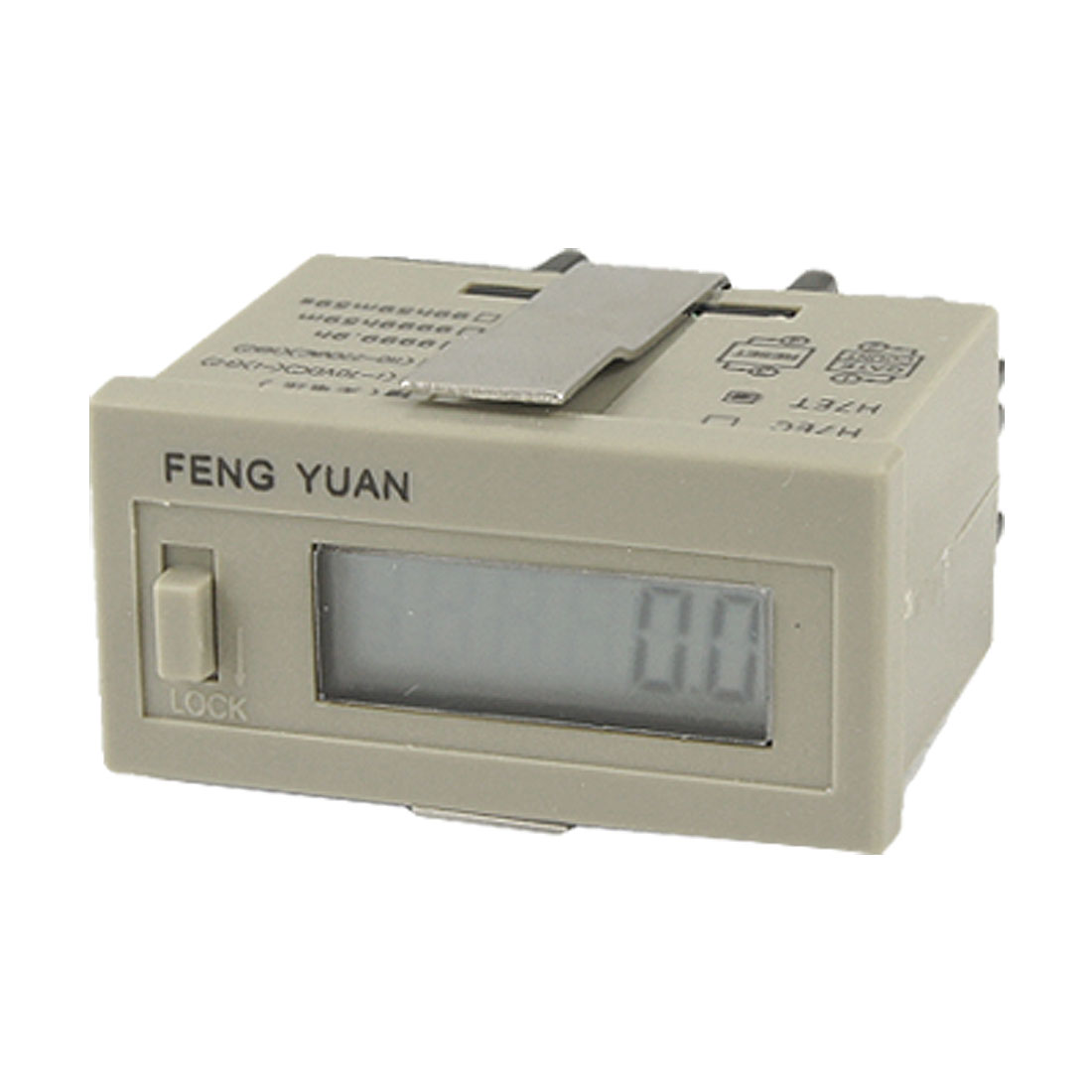 No-voltage Required Time Accumulator 0-9999.9 Hour Digital Counter