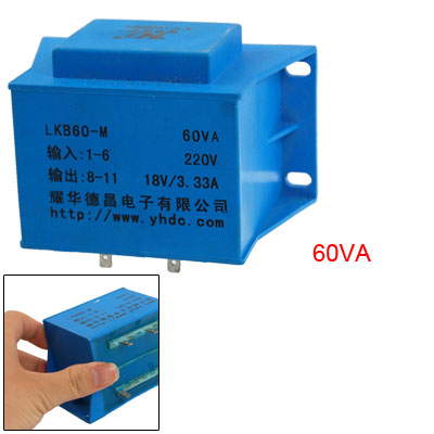 AC 220V Epoxy Resin Embedding Single Phase PCB Transformer